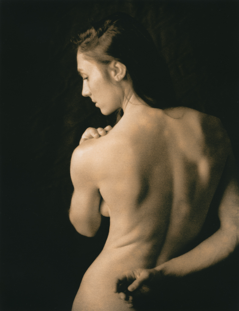 """""""Celina, Back Portrait"""" © David Aimone. Offered by GALLERY5X7."""