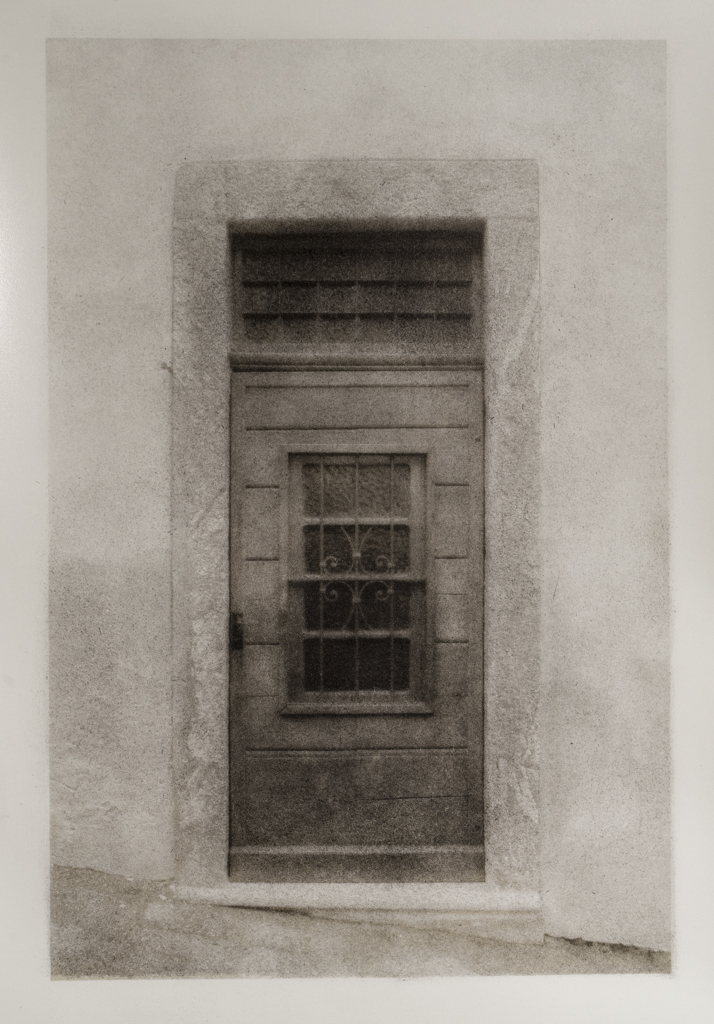"""""""Italian Doorway, Version 2"""" © David Aimone. Offered by GALLERY5X7."""