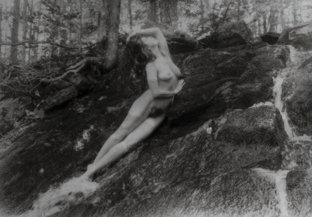 """""""Kelsey, Falls Figure"""" © David Aimone. Offered by GALLERY5X7."""