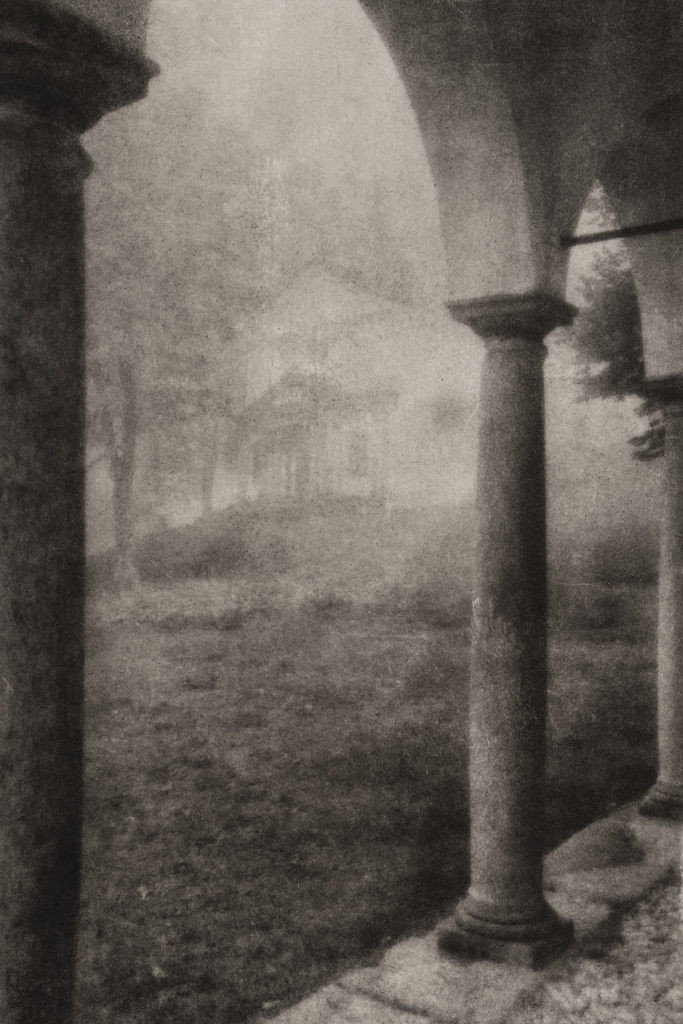 """""""Oropa in Fog"""" © David Aimone. Offered by GALLERY5X7."""
