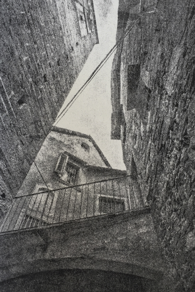 """""""Orta San Guilio"""" © David Aimone. Offered by GALLERY5X7."""