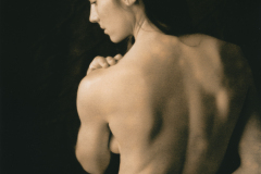 """Celina, Back Portrait"" © David Aimone. Offered by GALLERY5X7."