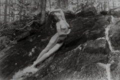 """Kelsey, Falls Figure"" © David Aimone. Offered by GALLERY5X7."