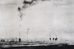 """Industrial Morning"" © David Heger. Offered by GALLERY5X7."