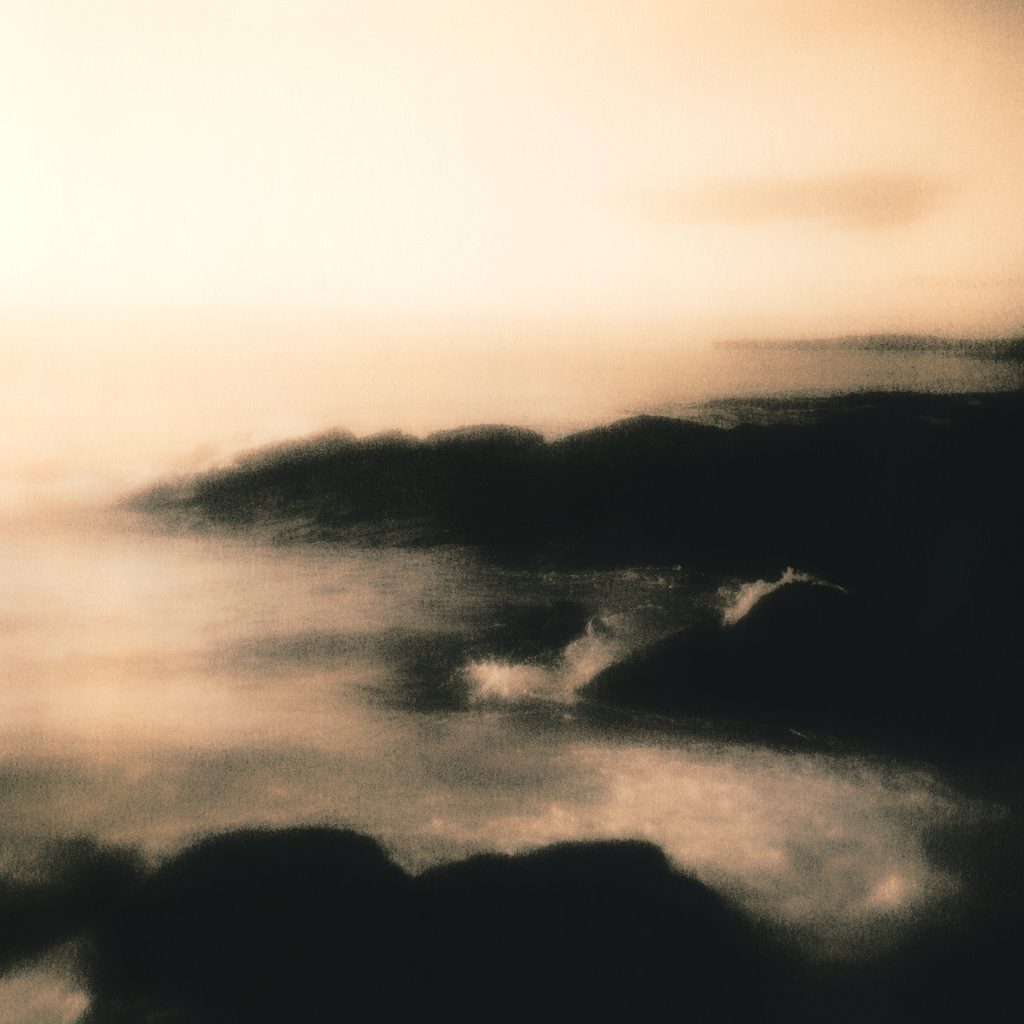 """Grobust Beach"" © Iván B. Pallí.  Offered by GALLERY5X7."