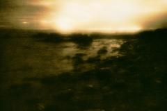 """Sunrise on Titan"" © Iván B. Pallí.  Offered by GALLERY5X7."