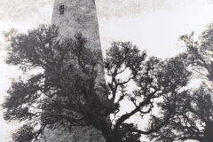 """Ocracoke Island Light Oak"" © WJ Eastman.   Offered by GALLERY5X7."